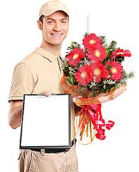 Курьер цветы